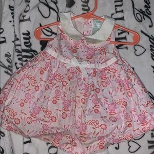 Nursery Rhyme Dresses - Cute collared Bunny Dress